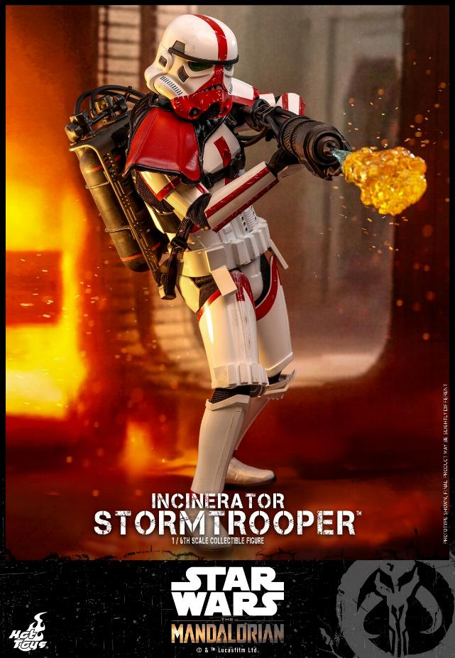 Incinerator Stormtrooper Collectible Figure 1:6 - Hot Toys Incine14