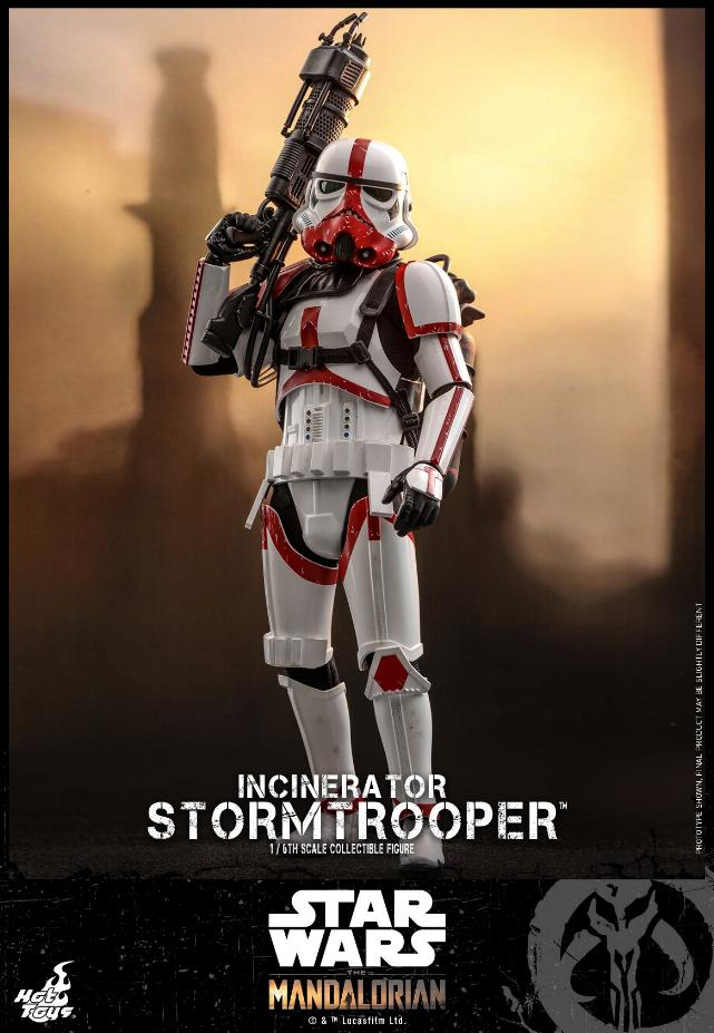 Incinerator Stormtrooper Collectible Figure 1:6 - Hot Toys Incine15