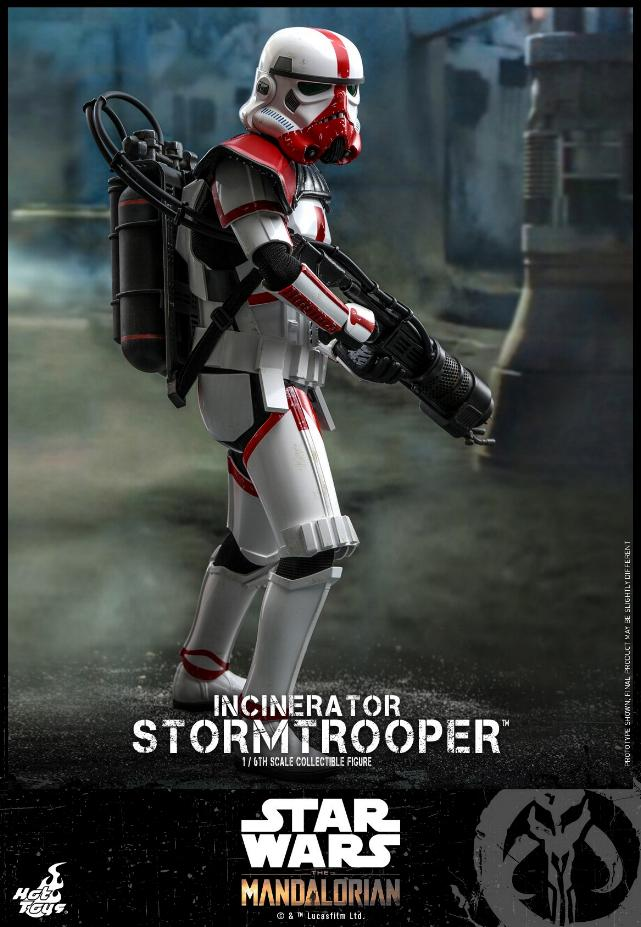 Incinerator Stormtrooper Collectible Figure 1:6 - Hot Toys Incine16