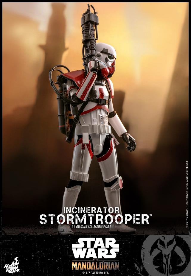 Incinerator Stormtrooper Collectible Figure 1:6 - Hot Toys Incine17
