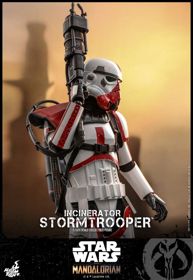 Incinerator Stormtrooper Collectible Figure 1:6 - Hot Toys Incine18