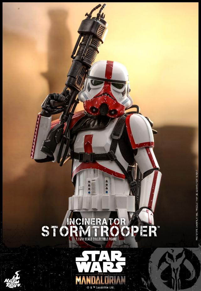 Incinerator Stormtrooper Collectible Figure 1:6 - Hot Toys Incine19
