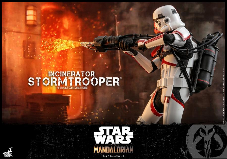 Incinerator Stormtrooper Collectible Figure 1:6 - Hot Toys Incine20
