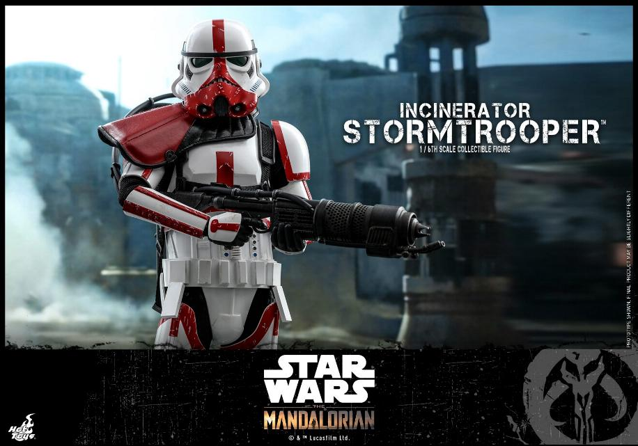 Incinerator Stormtrooper Collectible Figure 1:6 - Hot Toys Incine22