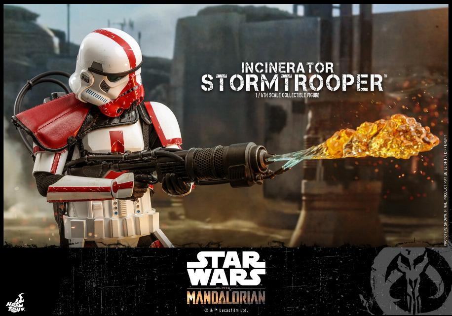 Incinerator Stormtrooper Collectible Figure 1:6 - Hot Toys Incine23