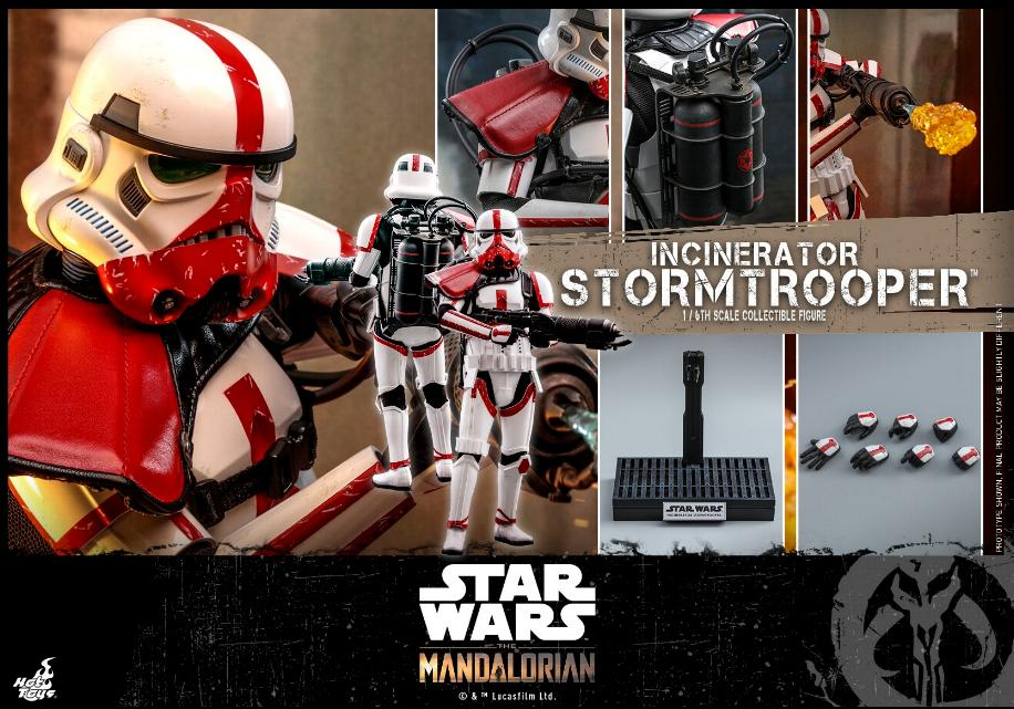 Incinerator Stormtrooper Collectible Figure 1:6 - Hot Toys Incine24