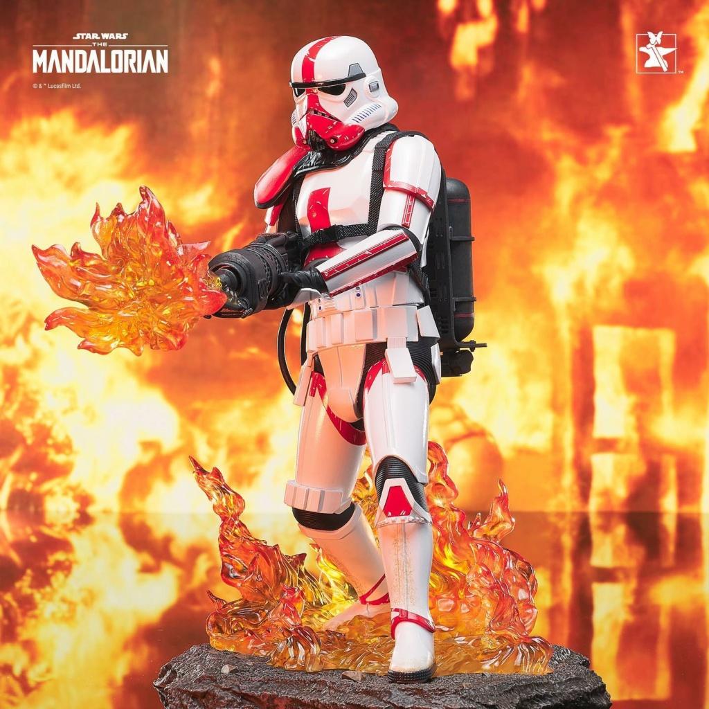 Incinerator Trooper Premier Collection Statue - Gentle Giant Incine29