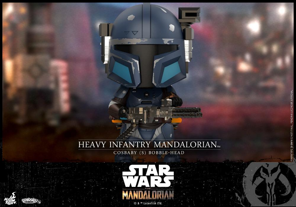 Star Wars The Mandalorian - Cosbaby Bobble-Head - Hot Toys Infant10