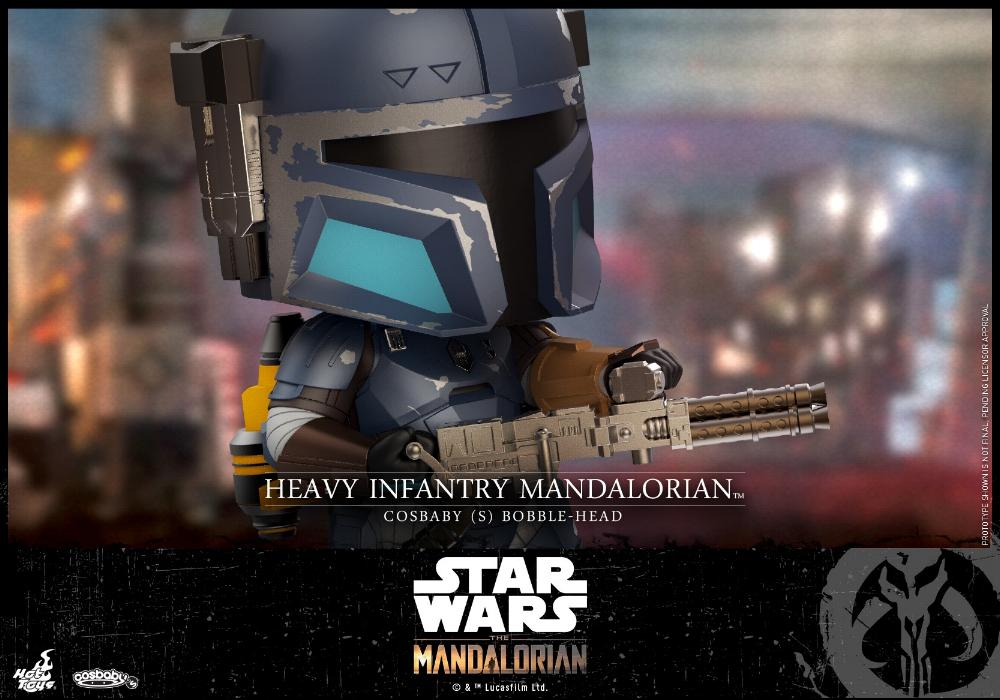 Star Wars The Mandalorian - Cosbaby Bobble-Head - Hot Toys Infant11