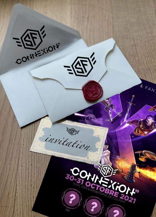 SF Connexion 10 - 30 & 31 octobre 2021 - Parc Expo de COLMAR Invita10