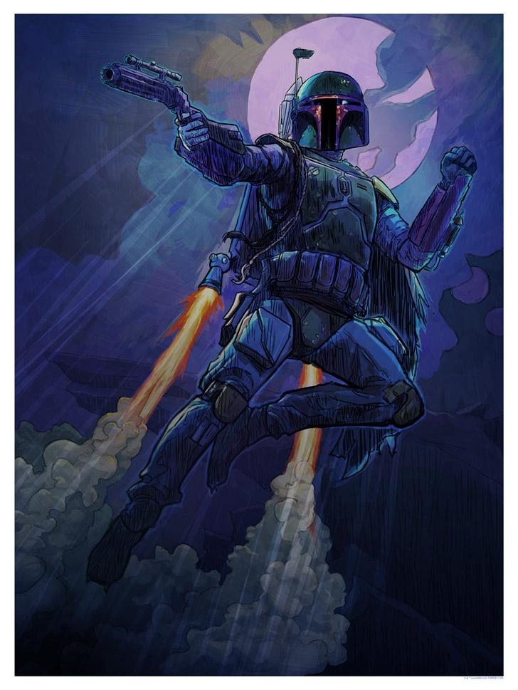 Its Not A Matter of Luck - Artwork Star Wars - ACME Archives It_s_n10