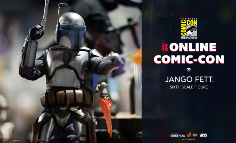 Hot Toys Star Wars - Jango Fett Sixth Scale Figure Jango_10