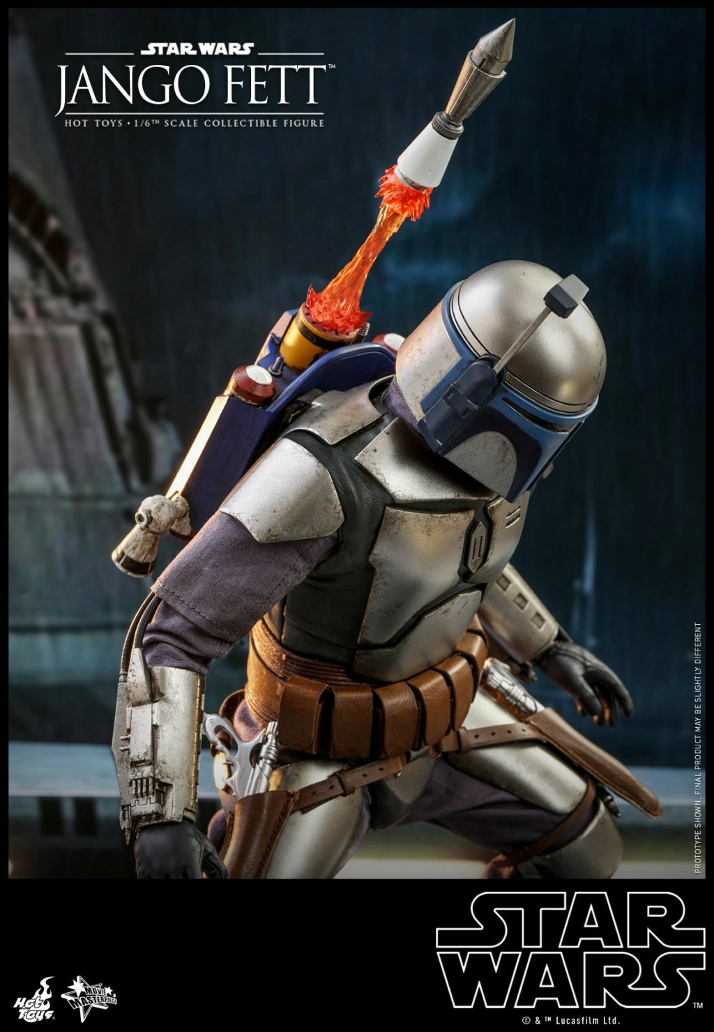 Jango Fett 1/6th scale Collectible Figure - Hot Toys Jango_12
