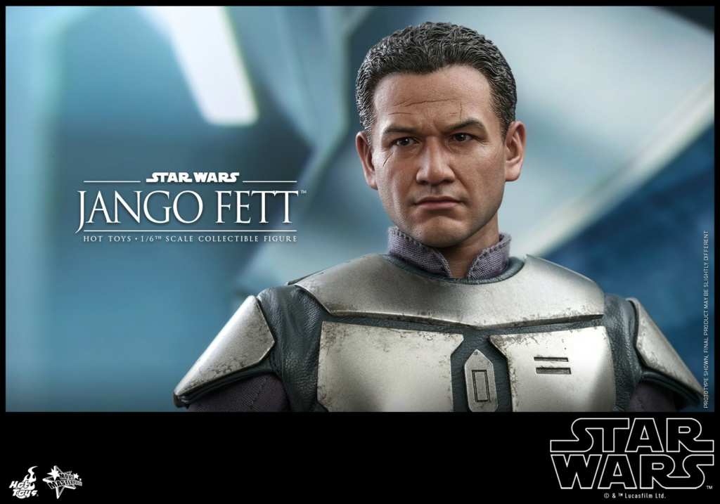 Jango Fett 1/6th scale Collectible Figure - Hot Toys Jango_13