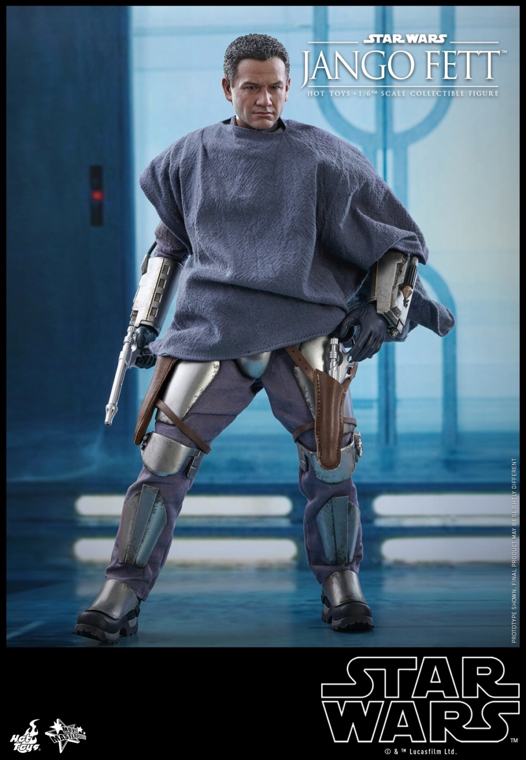 Jango Fett 1/6th scale Collectible Figure - Hot Toys Jango_14
