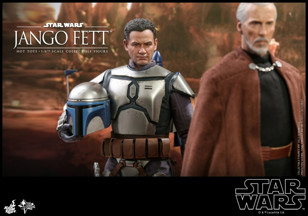 Jango Fett 1/6th scale Collectible Figure - Hot Toys Jango_15