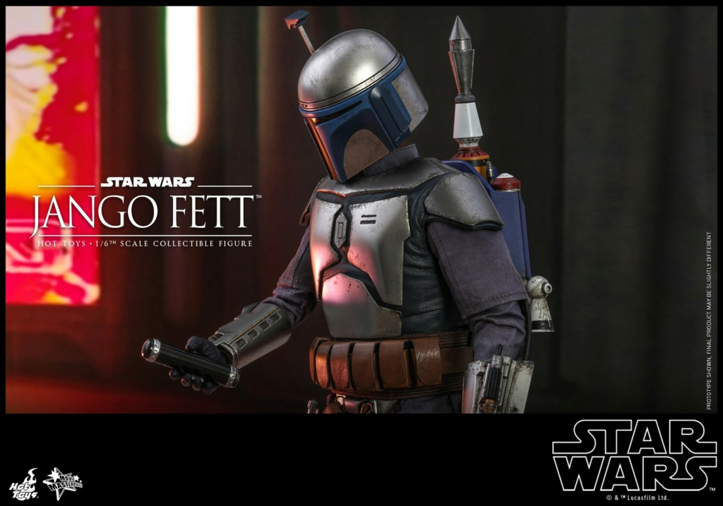 Jango Fett 1/6th scale Collectible Figure - Hot Toys Jango_17