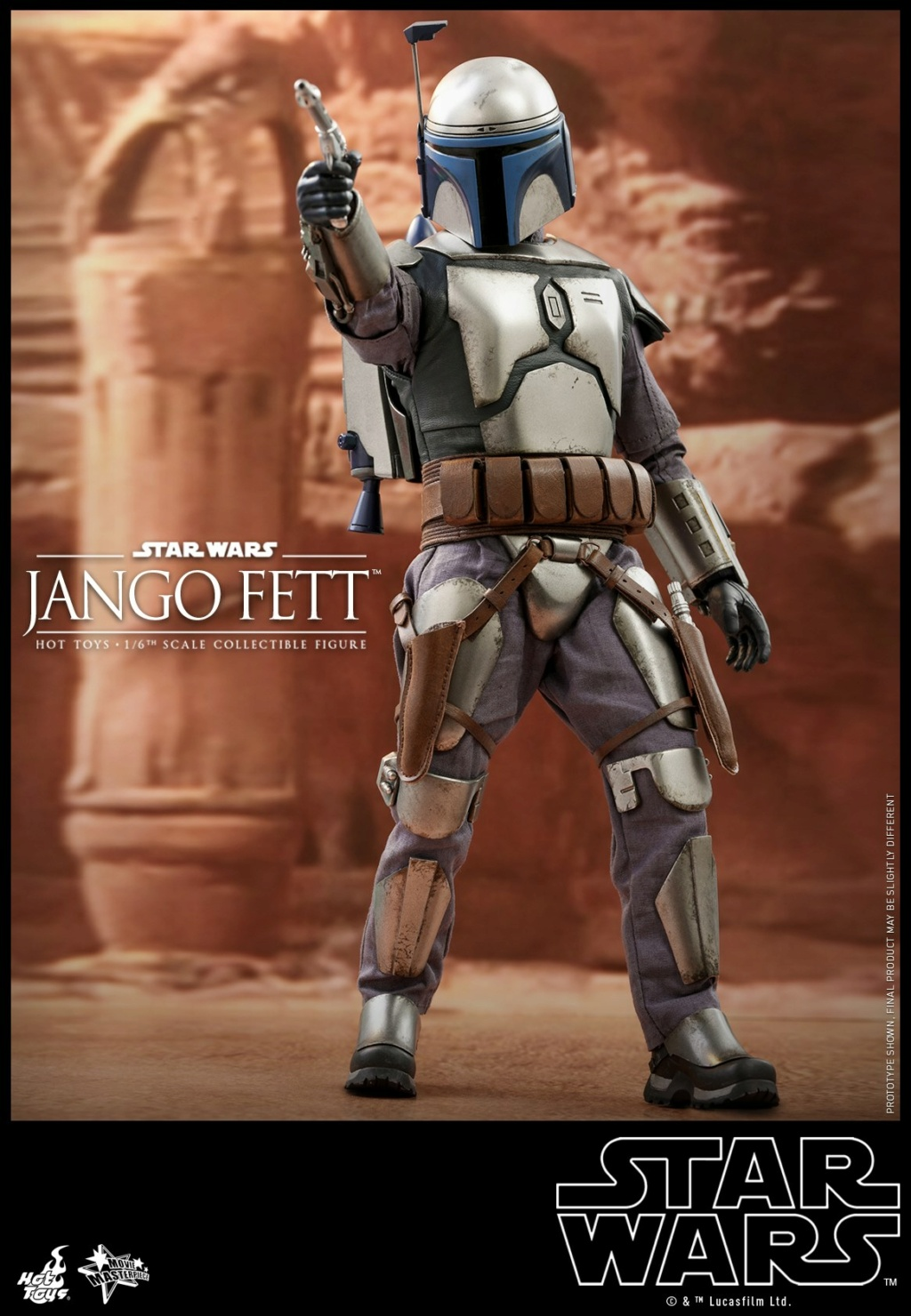 Jango Fett 1/6th scale Collectible Figure - Hot Toys Jango_18