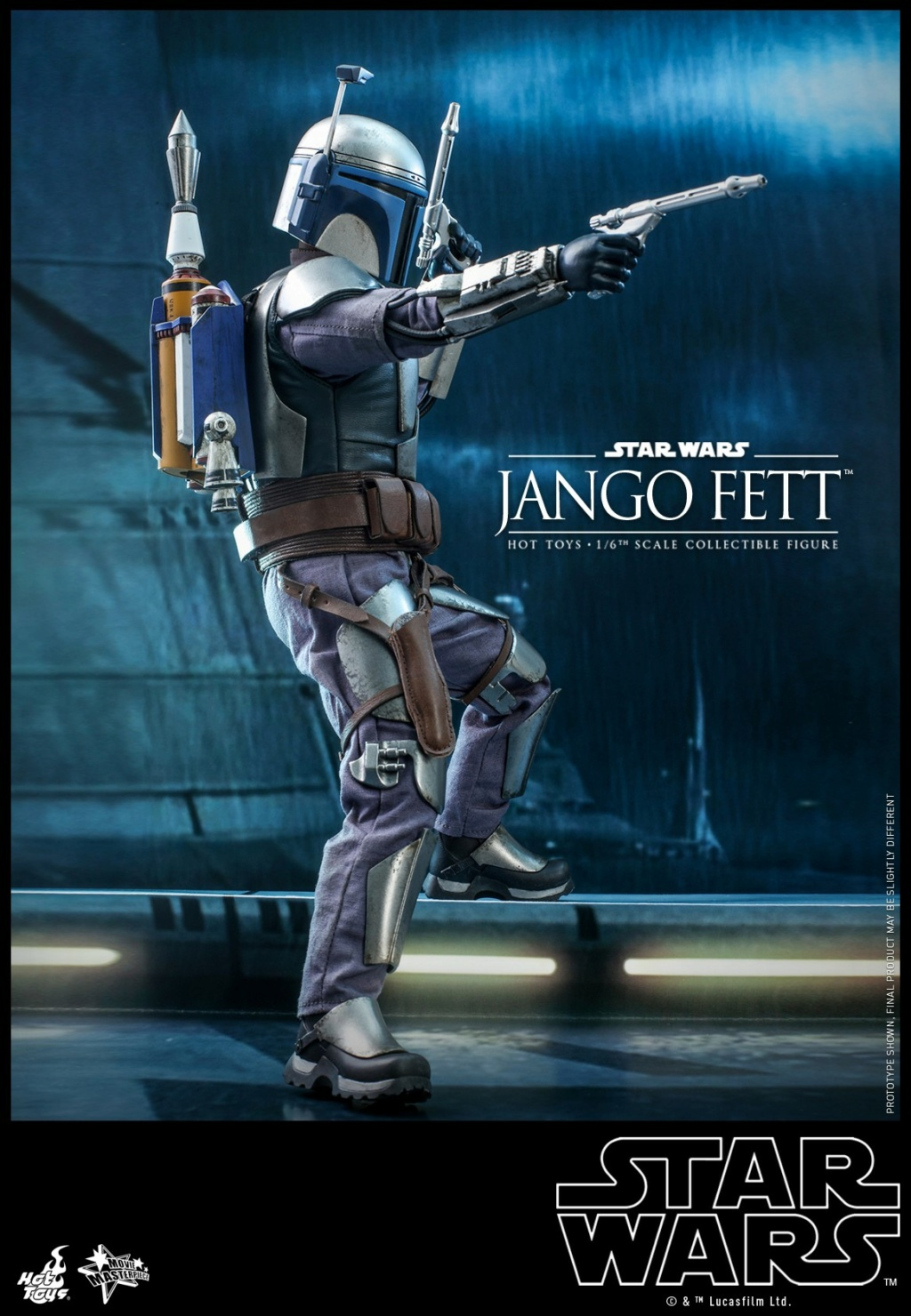 Jango Fett 1/6th scale Collectible Figure - Hot Toys Jango_19