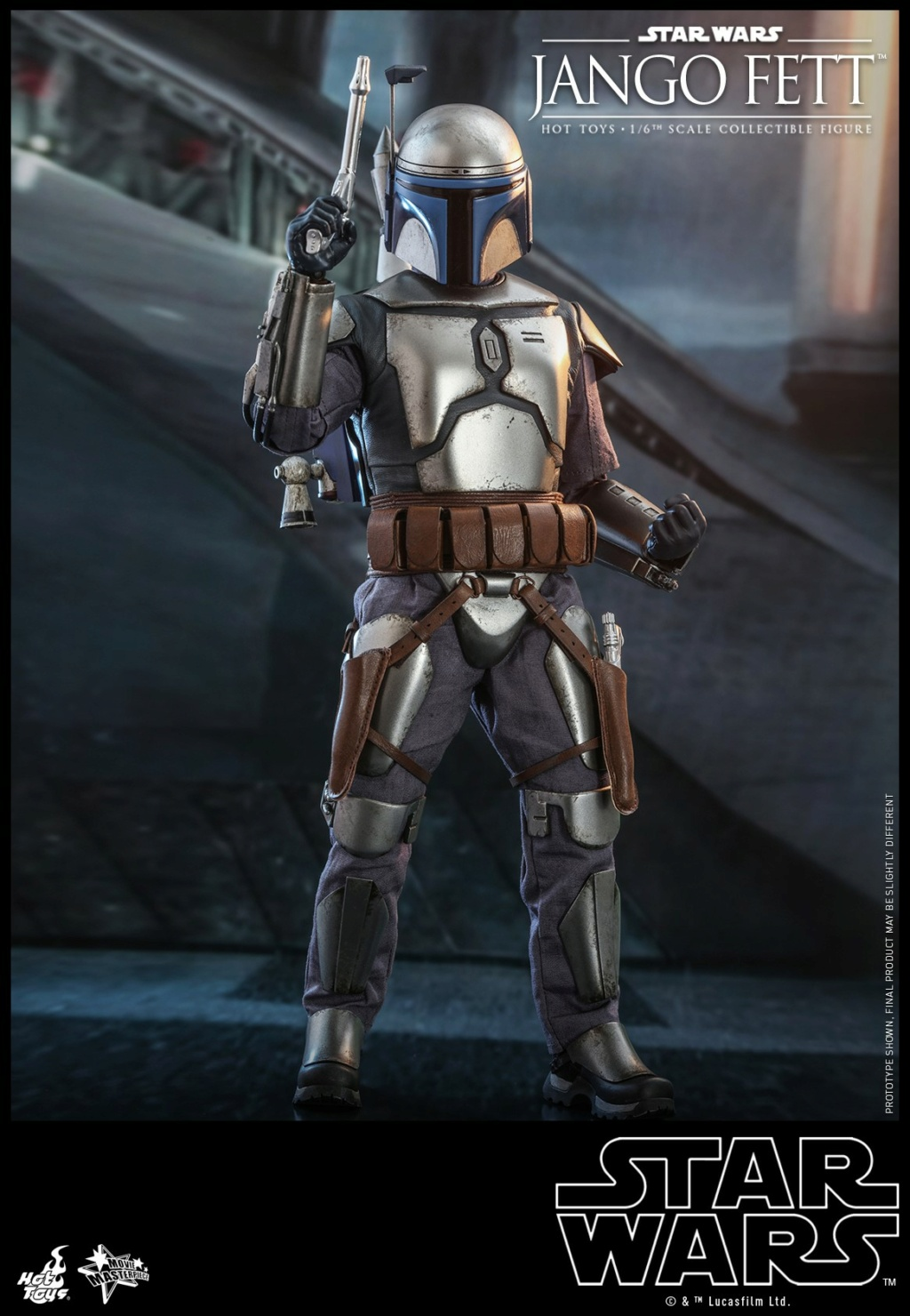 Jango Fett 1/6th scale Collectible Figure - Hot Toys Jango_21