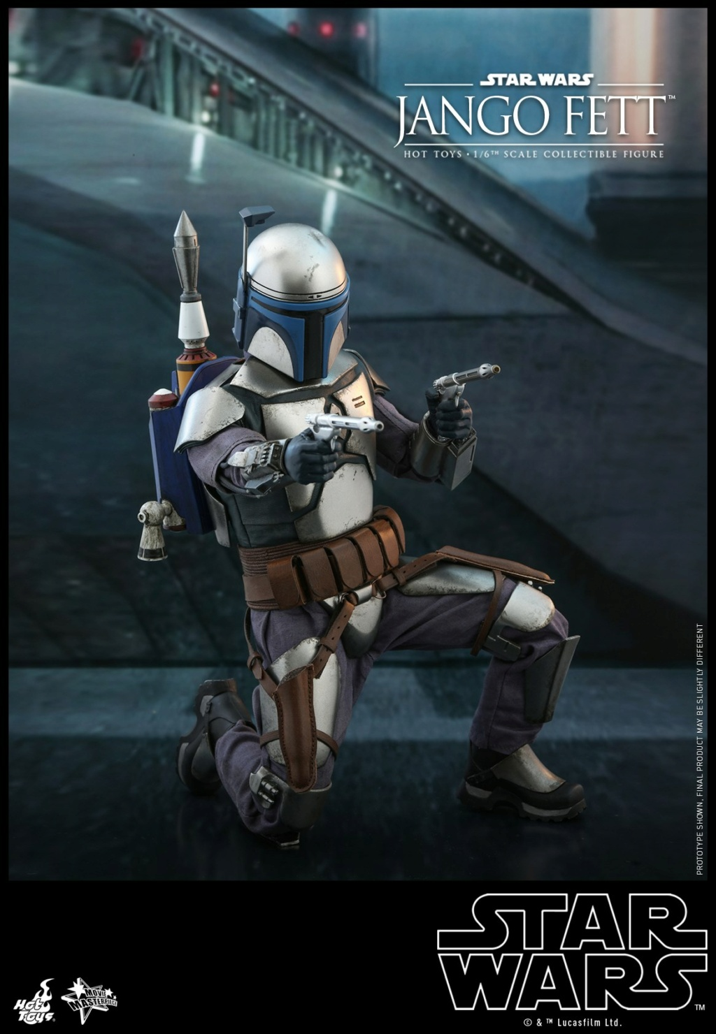 Jango Fett 1/6th scale Collectible Figure - Hot Toys Jango_22