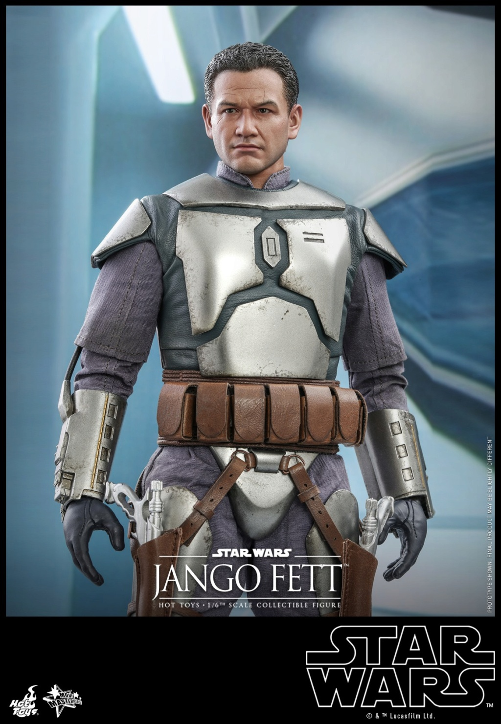 Jango Fett 1/6th scale Collectible Figure - Hot Toys Jango_23