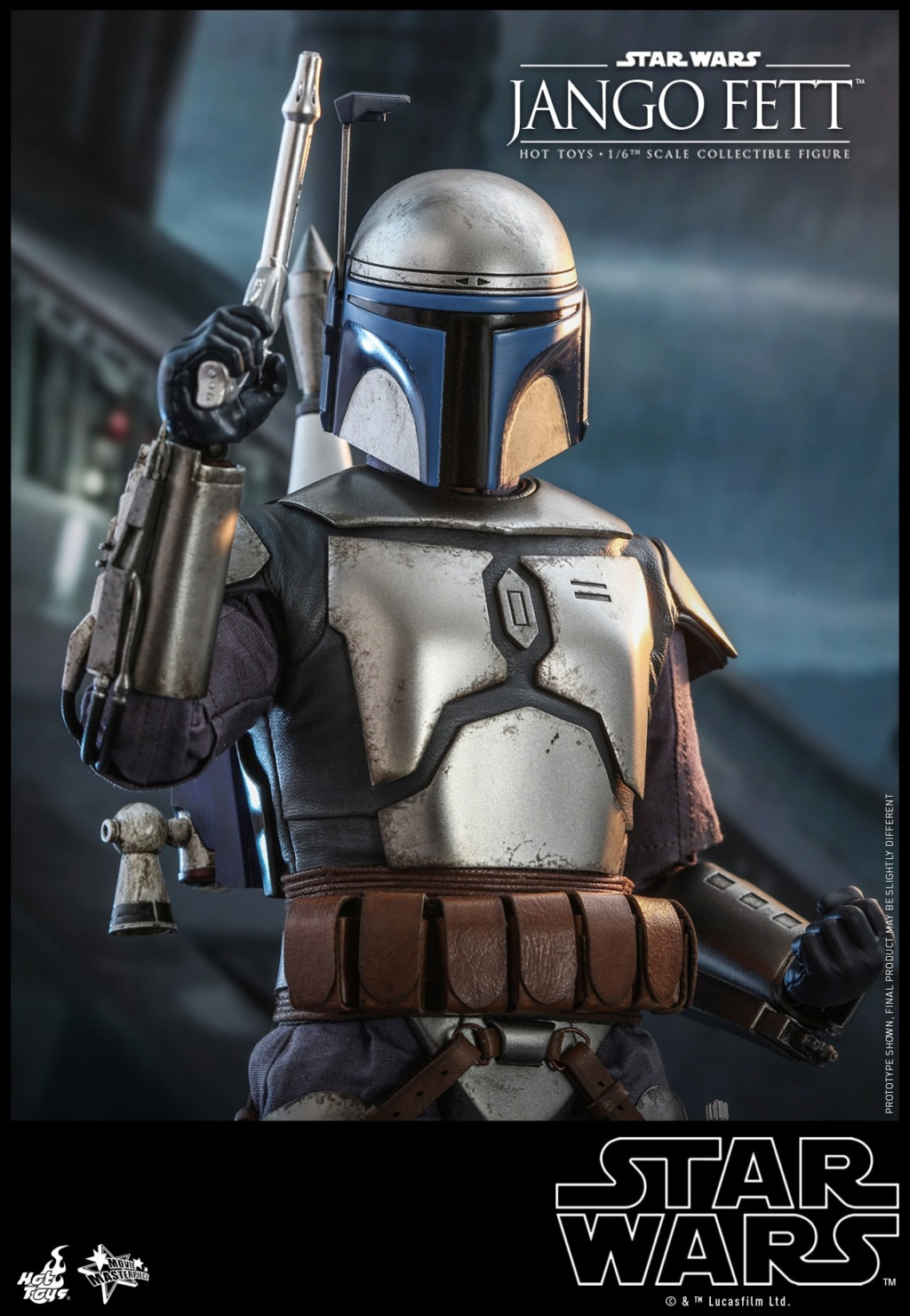 Jango Fett 1/6th scale Collectible Figure - Hot Toys Jango_24