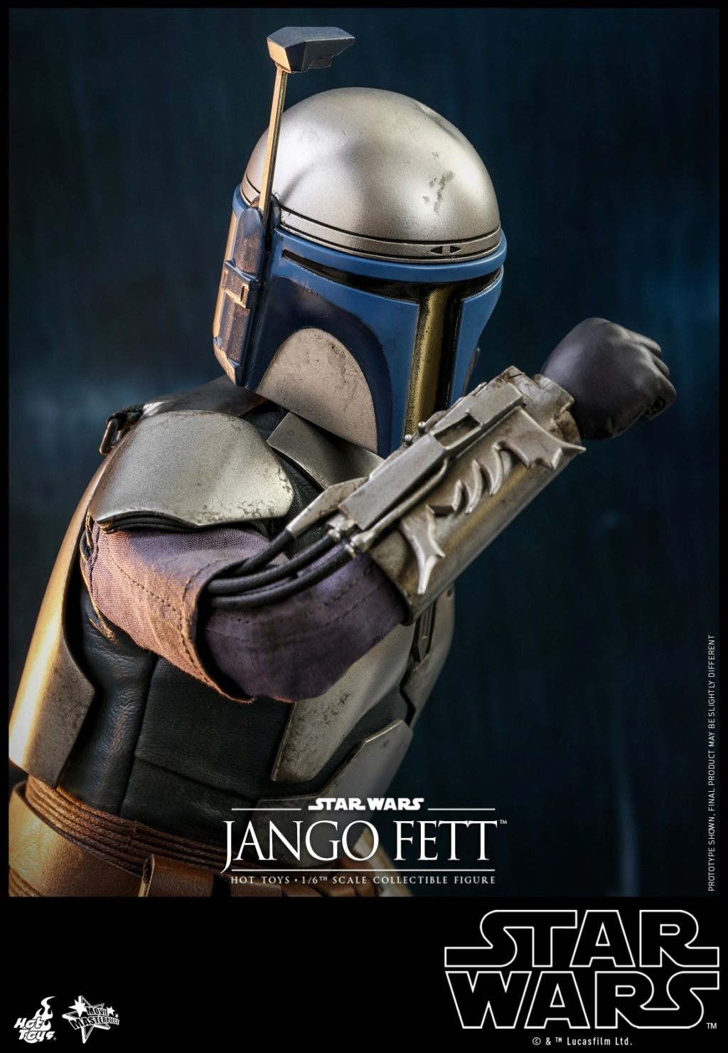 Jango Fett 1/6th scale Collectible Figure - Hot Toys Jango_25