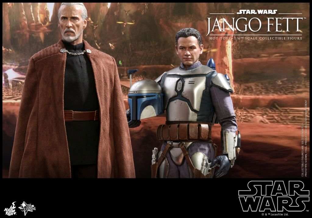 Jango Fett 1/6th scale Collectible Figure - Hot Toys Jango_26