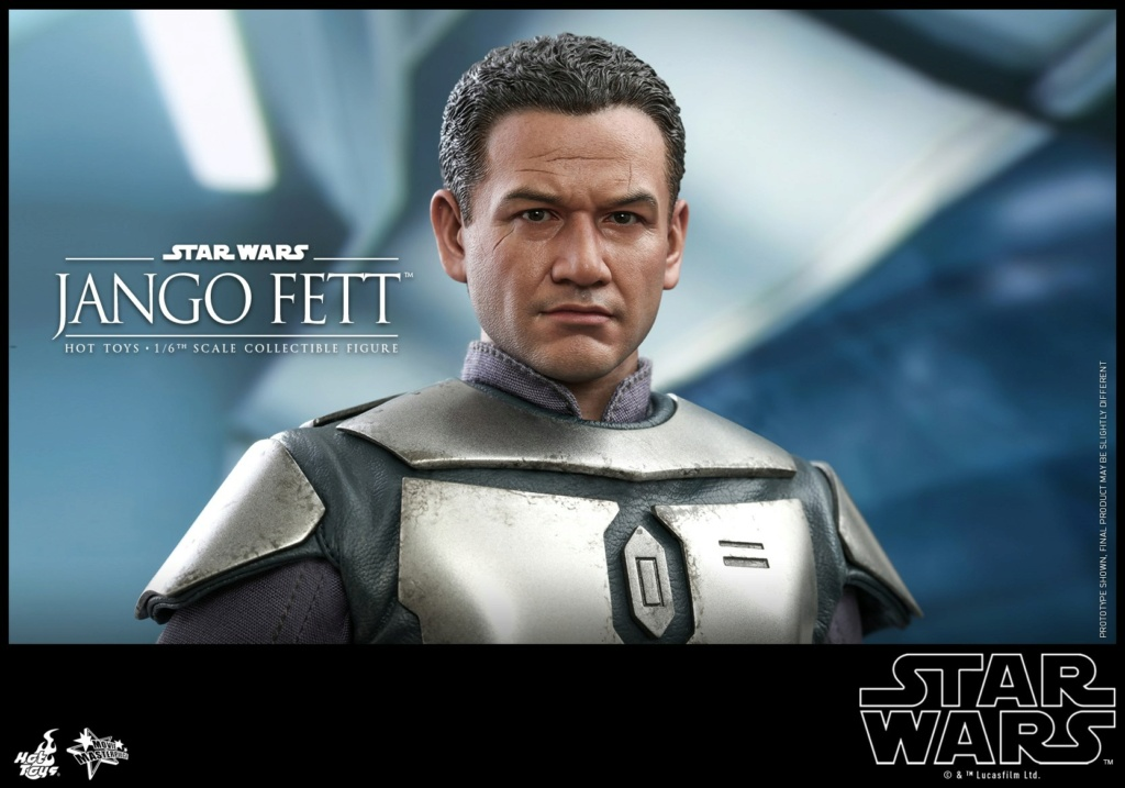 Jango Fett 1/6th scale Collectible Figure - Hot Toys Jango_27