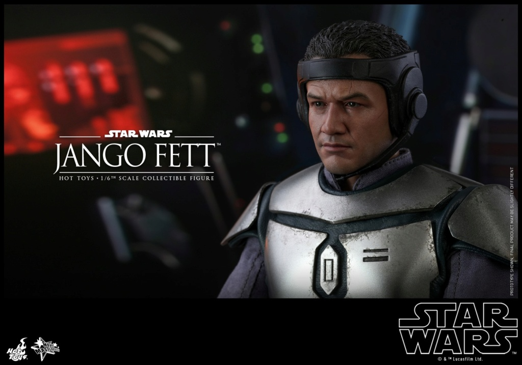 Jango Fett 1/6th scale Collectible Figure - Hot Toys Jango_28