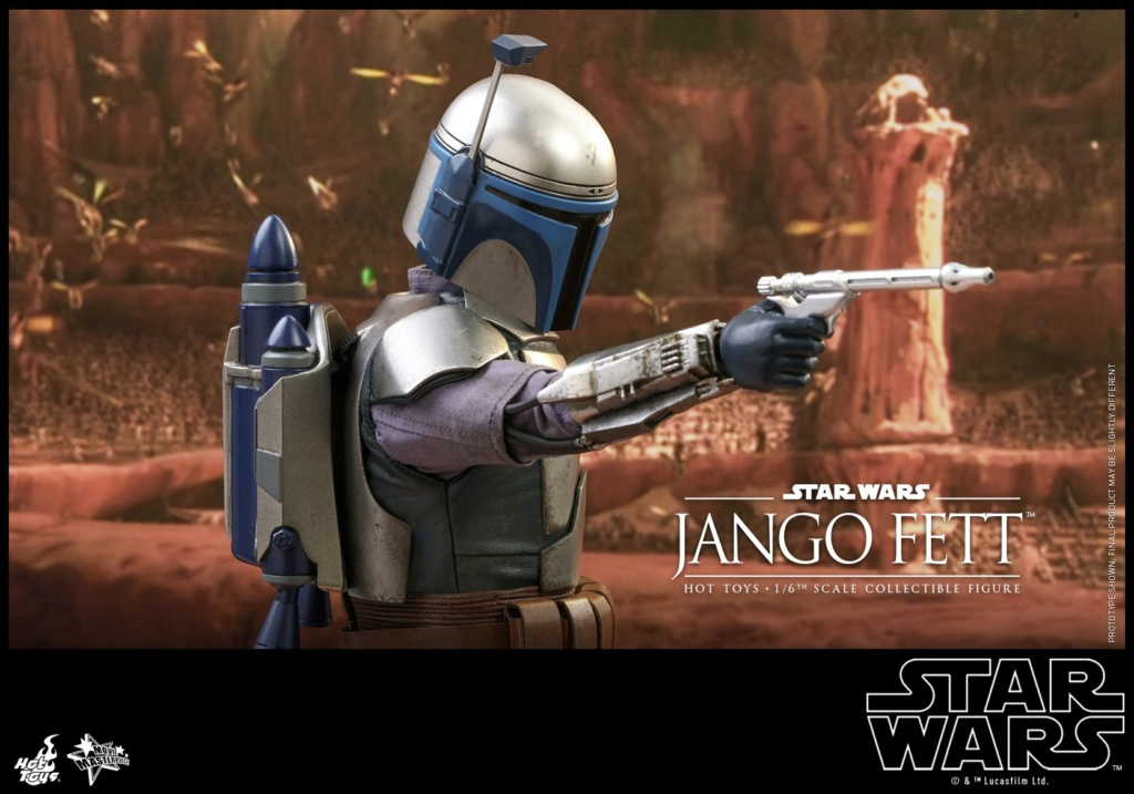 Jango Fett 1/6th scale Collectible Figure - Hot Toys Jango_30