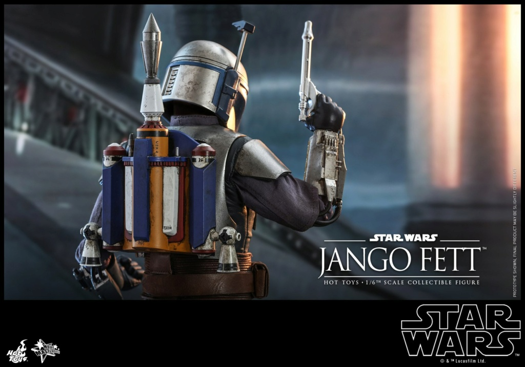 Jango Fett 1/6th scale Collectible Figure - Hot Toys Jango_31