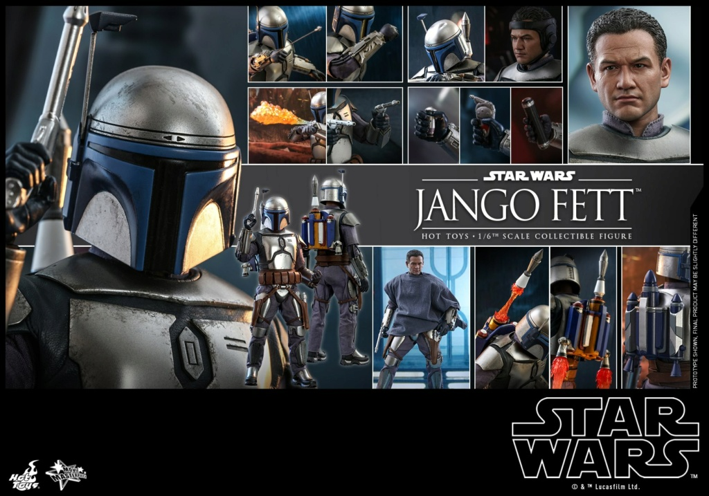 Jango Fett 1/6th scale Collectible Figure - Hot Toys Jango_32