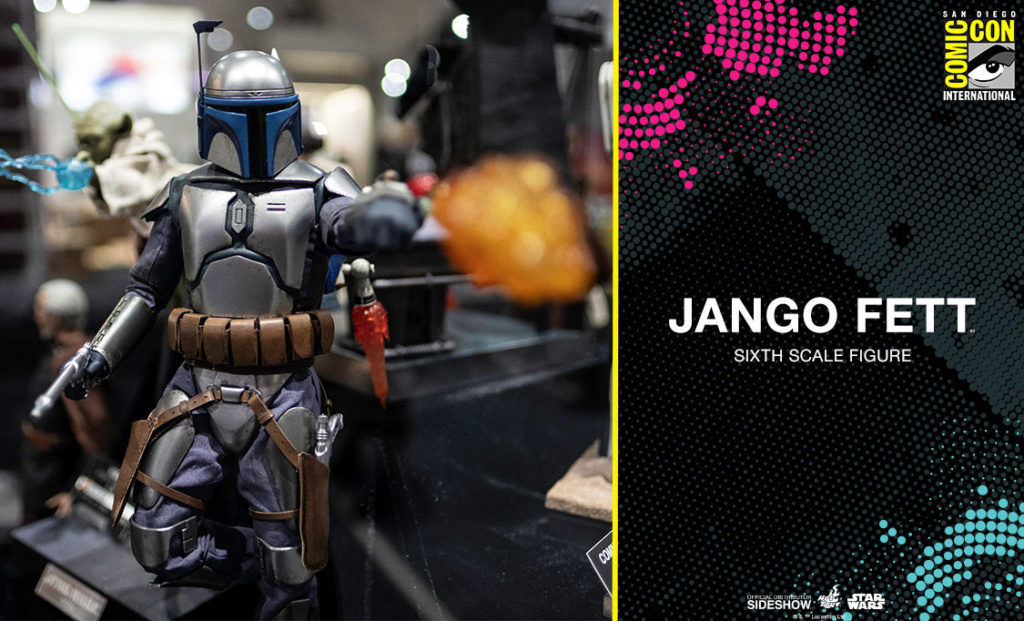 Hot Toys Star Wars - Jango Fett Sixth Scale Figure Jangof10
