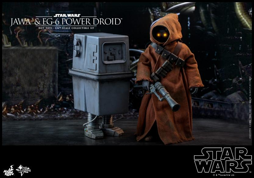 Jawas and Power Droid Sixth Scale Figures Hot Toys Star Wars Jawa_016