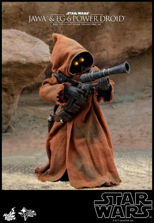Jawas and Power Droid Sixth Scale Figures Hot Toys Star Wars Jawa_017