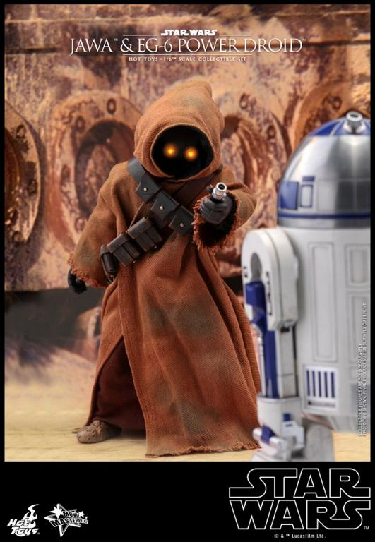 Jawas and Power Droid Sixth Scale Figures Hot Toys Star Wars Jawa_018