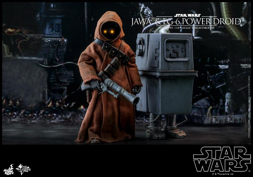Jawas and Power Droid Sixth Scale Figures Hot Toys Star Wars Jawa_019
