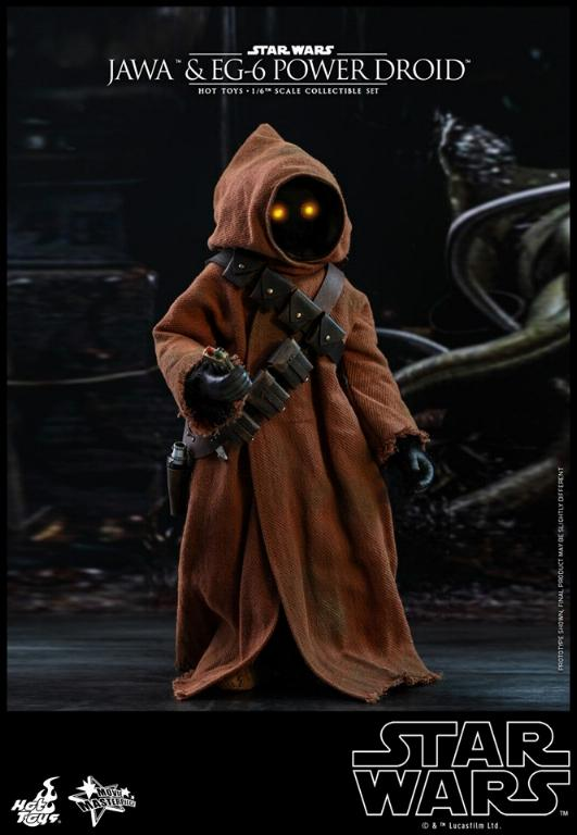 Jawas and Power Droid Sixth Scale Figures Hot Toys Star Wars Jawa_020