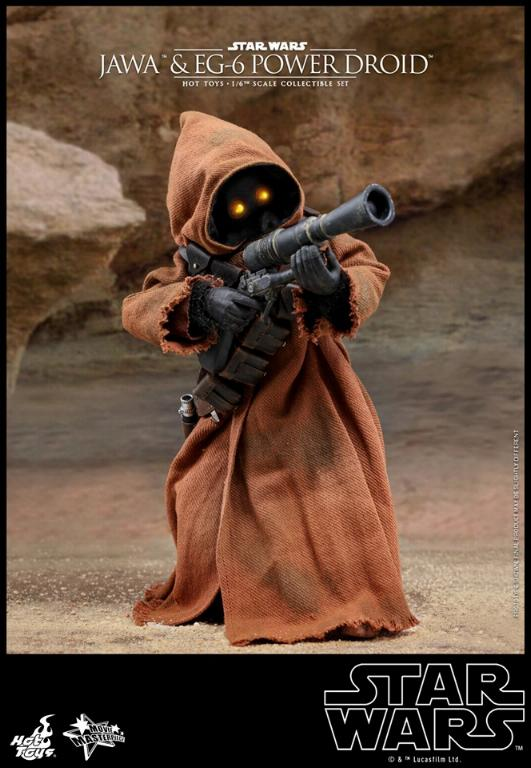 Jawas and Power Droid Sixth Scale Figures Hot Toys Star Wars Jawa_022