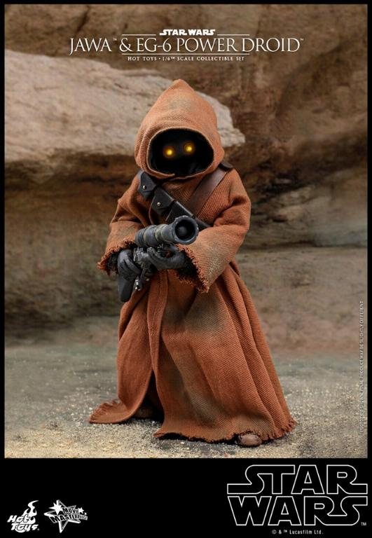 Jawas and Power Droid Sixth Scale Figures Hot Toys Star Wars Jawa_023