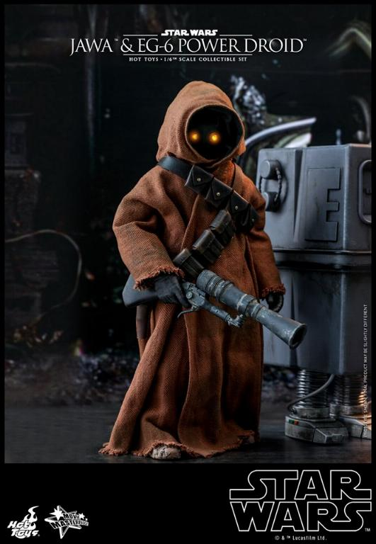 Jawas and Power Droid Sixth Scale Figures Hot Toys Star Wars Jawa_024