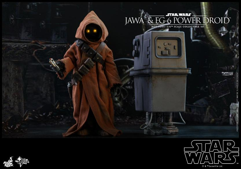Jawas and Power Droid Sixth Scale Figures Hot Toys Star Wars Jawa_113