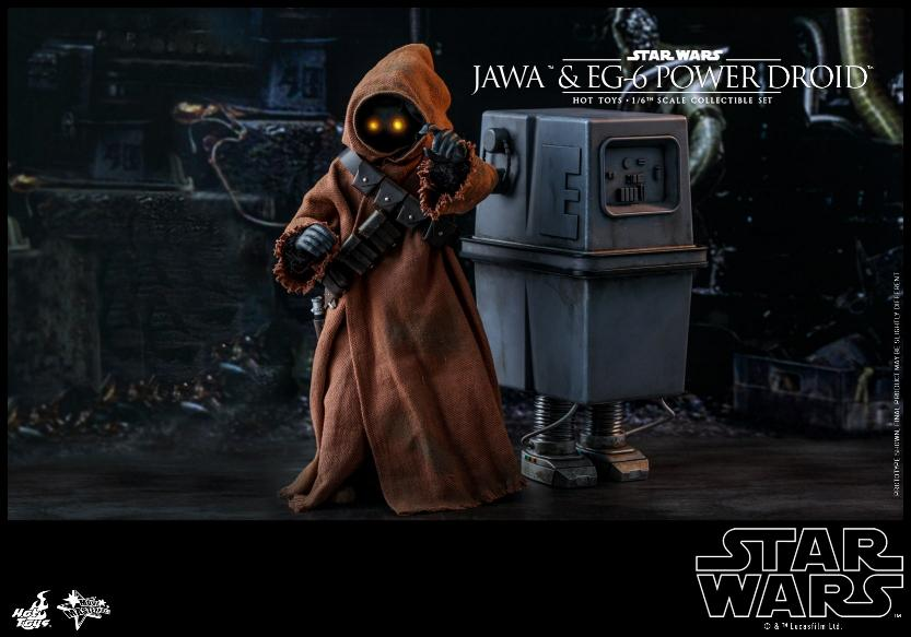 Jawas and Power Droid Sixth Scale Figures Hot Toys Star Wars Jawa_114