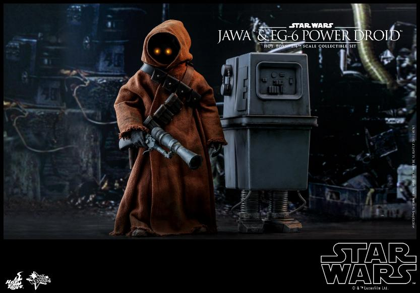 Jawas and Power Droid Sixth Scale Figures Hot Toys Star Wars Jawa_115
