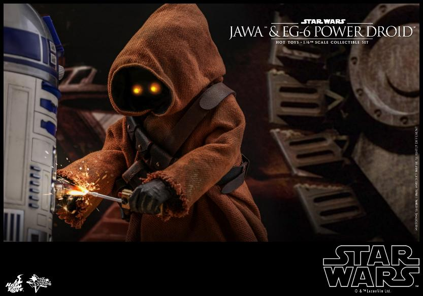 Jawas and Power Droid Sixth Scale Figures Hot Toys Star Wars Jawa_116