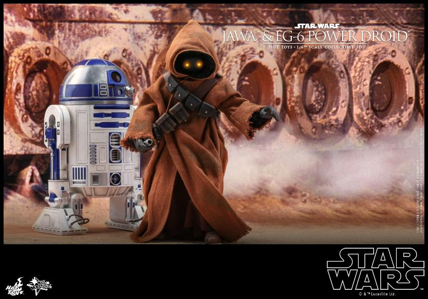 Jawas and Power Droid Sixth Scale Figures Hot Toys Star Wars Jawa_117