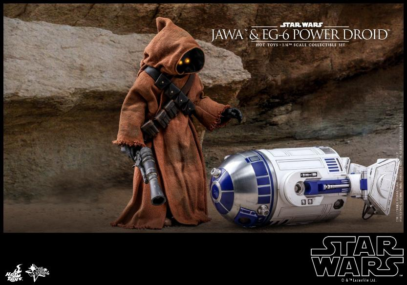 Jawas and Power Droid Sixth Scale Figures Hot Toys Star Wars Jawa_118