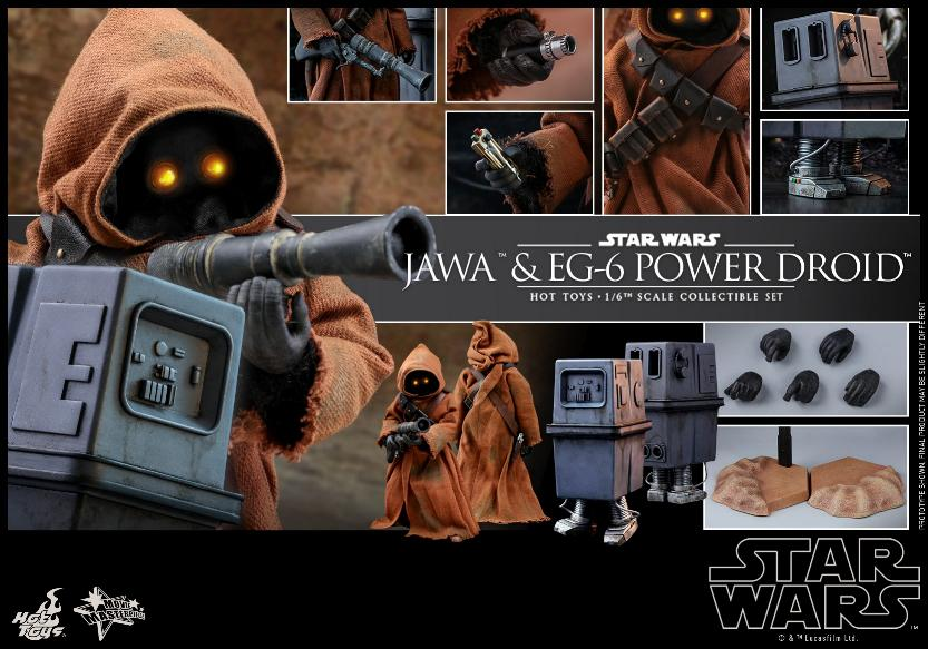 Jawas and Power Droid Sixth Scale Figures Hot Toys Star Wars Jawa_119
